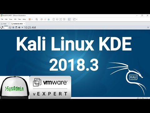 How to Install Kali Linux 2018.3 KDE + VMware Tools + Review on VMware Workstation [2018]