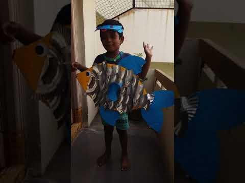 Fish fancy dress