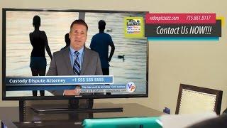 Custody Attorney - Compelling VidInVid Commercial - Custody Lawyer Male Spokesperson