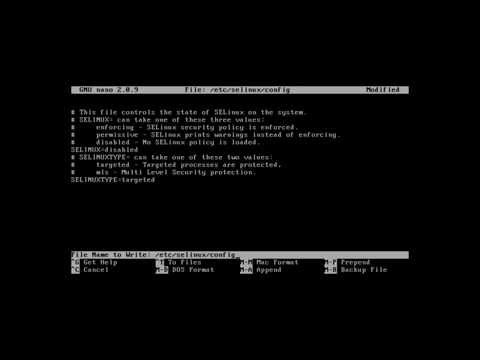 How to disable Firewall and SELinux in CentOS 6