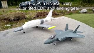 LX F-35A in RNoAF colors - Maiden flight