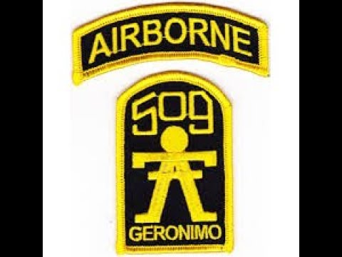 The Geronimos II U.S Army 1st Battallion 509th Parachute Infantry Regiment