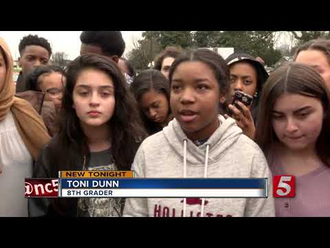 Nashville Students Hold Protest For Stricter Gun Laws