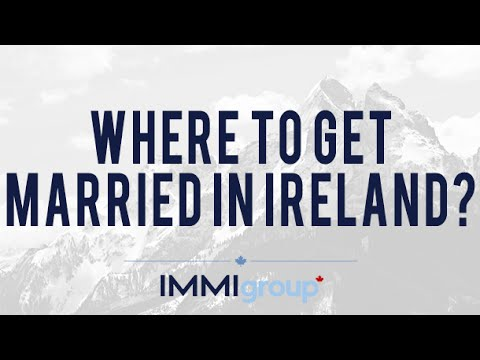Where to get married in Ireland?