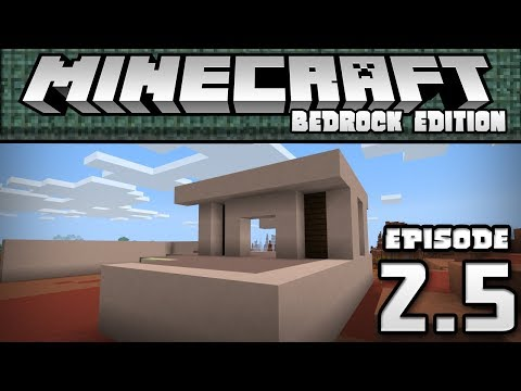 Going over the Update   Let's Play House   1.3 Aquatic Update   Minecraft Bedrock Edition