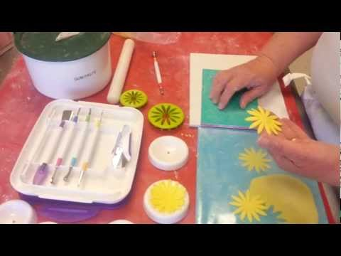 How to use the new Wilton modeling tool set for Gum Paste and Fondant flower making.