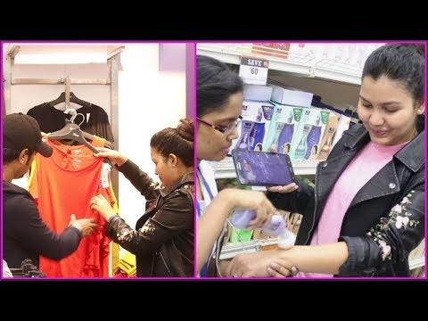 Winter essential shopping Vlog#21 / Skin confidence test / INDIANGIRLCHANNEL TRISHA