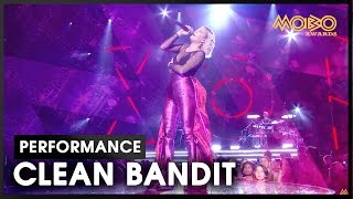 'Rockabye'   CLEAN BANDIT ft. Anne-Marie   live at MOBO Awards   2016