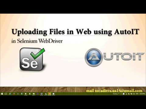 AutoIT in Selenium Webdriver complete guide