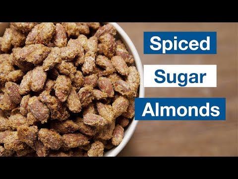 A-Mazing! Spiced Sugar Almonds     Le Gourmet TV Recipes