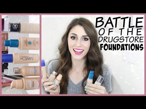Battle of the Drugstore Foundation: Round 1