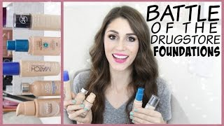 Battle of the Drugstore Foundation: Round 1