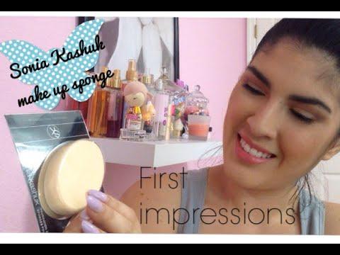 First impression- Sonia Kashuk Foundation Sponge