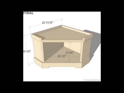 corner storage bench entryway