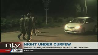Curfew: Motorist almost ran over Embu County Commissioner while escaping arrest