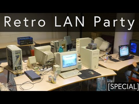 Retro Lan Party in the HomeComputerMuseum [SPECIAL]