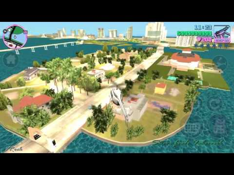 GTA VICE CITY FLYING A HELICOPTER