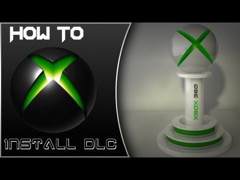 How to Install DLC File Into your Xbox 360