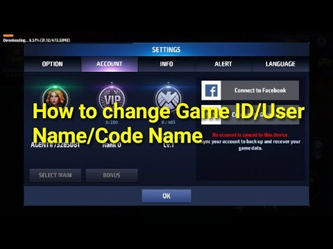 [[ How to change User Name/Code Name ? ]]  Marvel Future Fight HINDI INDIA