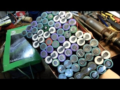 DIY 55$ 24AH Lithium-Ion 18650 E-Bike battery 100+ Mile Range: complete build
