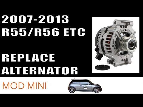 How to Replace Alternator Mini Cooper 2007-2013 R56