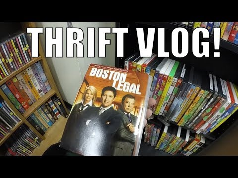 Thrift Store Shopping for Resale Vlog - Not Everything is a Winner