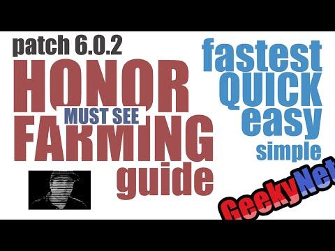 6.0.3 FASTEST Honor Farming Guide