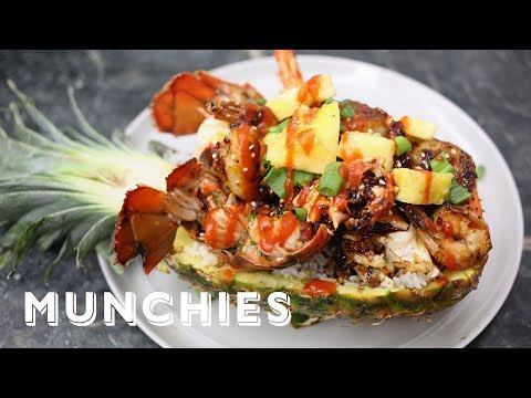 How-To: Make a Deadliest Catch Pineapple Bowl with Trap Kitchen