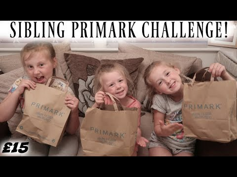 SIBLING PRIMARK OUTFIT CHALLENGE! | £15 LIMIT