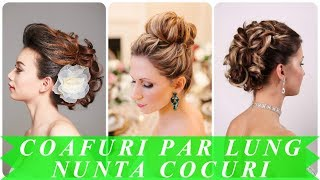Coafuri Nunta Par Lung Cocuri Videos 9tubetv