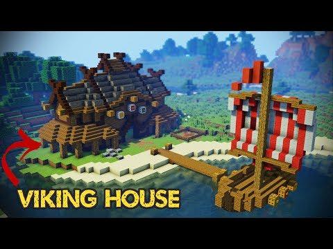 Minecraft Viking House Tutorial