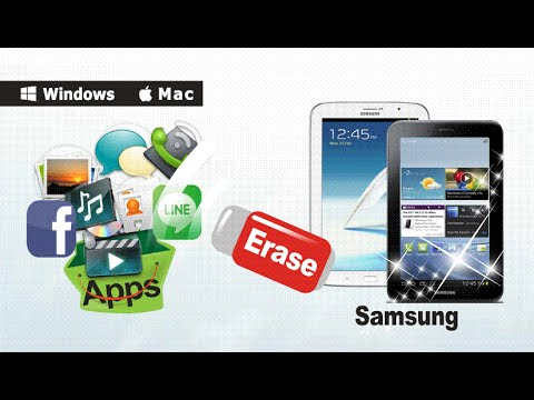 [Samsung Tablet Data Eraser]: How to Erase & Clear All Data from Your Samsung Tablet