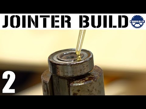 I'm Building A Jointer! - Key, Drive Pulley And Bearings