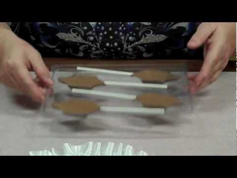 How To Make Dreidel Chocolate Lollipops