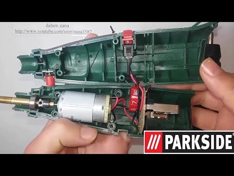 Mini drill repairing _ Fix PARKSIDE PFBS 9.6 A1 - How to test mosfet (video 31)