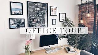 OFFICE TOUR + Desk Tour | Antonnette