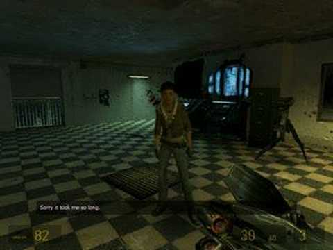 Half-life 2 Bug: Alyx' secret twin