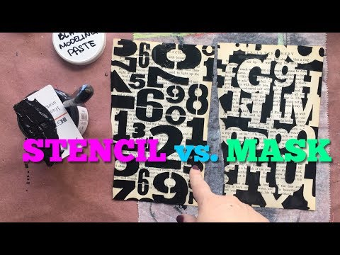 Stencil vs. Mask: What's the Difference?