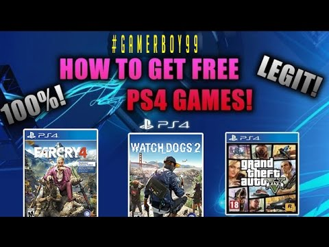how to GET FREE PS4 GAMES !! MARCH EDITION !!! 100% working