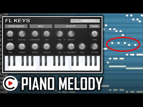 HARDSTYLE PIANO TUTORIAL | FL Studio Piano Melody Tutorial | How to Make Hardstyle Melody (FL Keys)