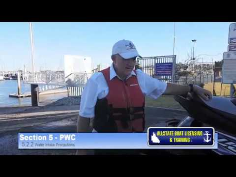 Qld Jetski Licence Section 5.2.2 PWC by Allstate Boat Licensing & Training