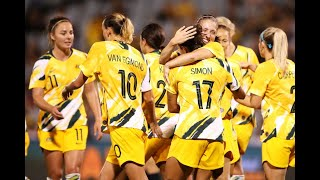 Match Highlights - Australia v Thailand - Women's Olympic Football Tournament Qualifier