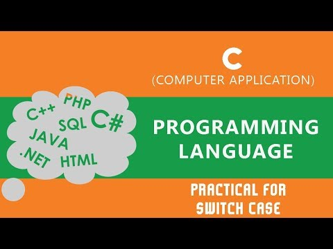 36. | Practical for Switch Case | Creating Menu of Calculator in the Program | - C Language
