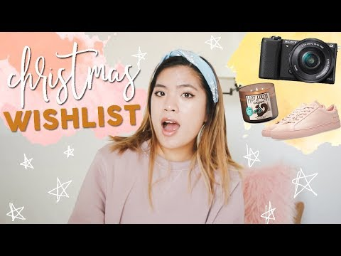 WHAT I WANT FOR CHRISTMAS! My Christmas Wishlist 2017! Teen Gift Guide || Ariel Alena