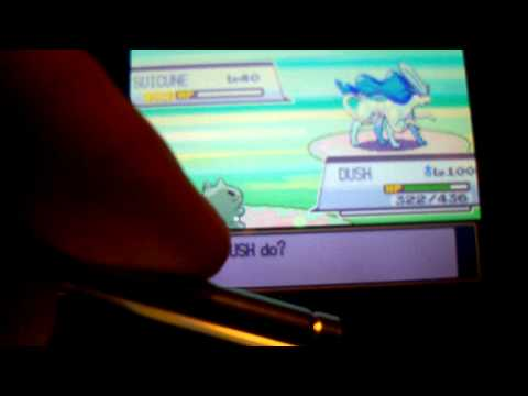 SHINY SUICUNE - POKEMON HEARTGOLD (part 2)