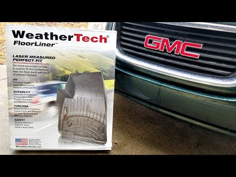 WeatherTech Floor Liner Unboxing, Installation and Initial Review