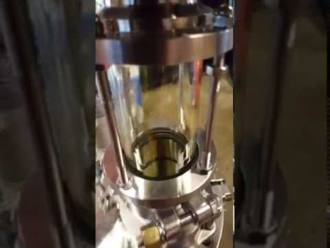 Butane Closed Loop Extraction Column Valve Release