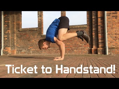 Best Exercise for the Handstand - The First step: Frogstand