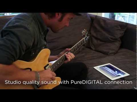 How to plug your guitar into iPad and GarageBand