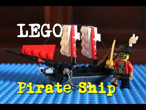 LEGO MOC: How to build a LEGO Pirate Ship